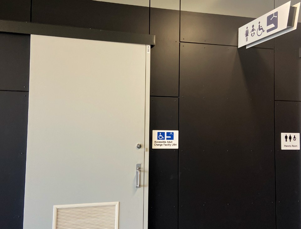 Queensland Country Bank Stadium Accessible Change Room